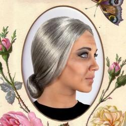 Perruques Cheveux gris 116065