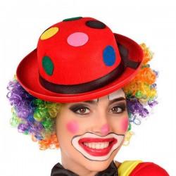 Chapeau Clown Rouge 114542