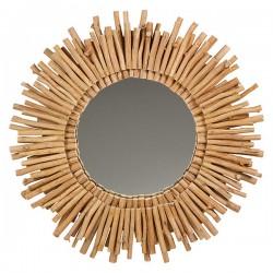 Miroir Bois d'acacia (77 X...