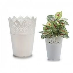 Pot Blanc Plastique