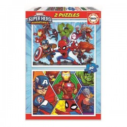 Puzzle Marvel Educa (20 pcs)