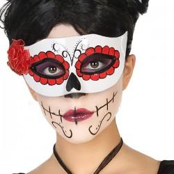 Masque Halloween Blanc