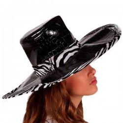 Chapeau Zèbre Noir 115960