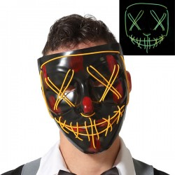 Masque Halloween Lumière
