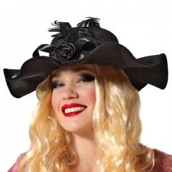 Chapeau Années 20 Noir