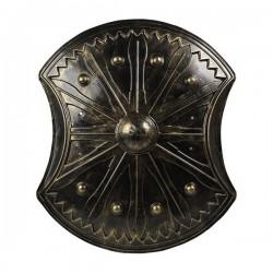 Bouclier Noir (70 X 60 cm)
