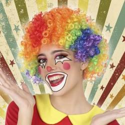 Perruques Clown Multicouleur