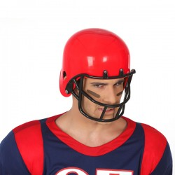 Casque Rugby Rouge 113150