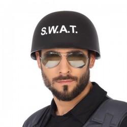Casque de police SWAT Noir