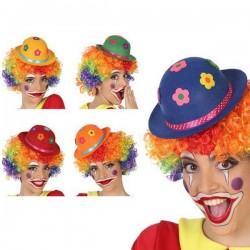 Chapeau de clown Multicouleur