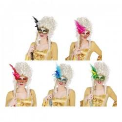 Masque Plume Paillettes