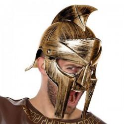 Casque romain Gladiateur Doré