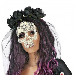 Serre-tête Masque Crâne