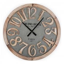 Horloge Murale Hotel Métal...