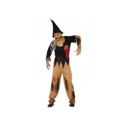 Déguisement épouvantail Halloween taille XL
