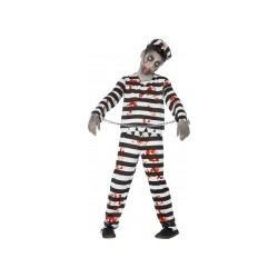 Déguisement zombie prisonnier garçon Halloween de 10 à 12 ans et 13 à 15 ans