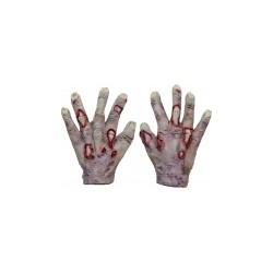paire de gant Mains de zombie vampire adulte