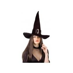 Chapeau sorcière velours halloween adulte taille unique