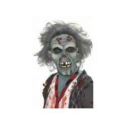 Masque zombie adulte Halloween TAILLE UNIQUE