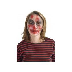 Masque transparent Halloween femme TAILLE UNIQUE
