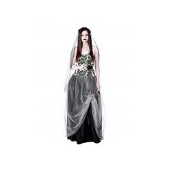 Déguisement mariée gothique femme Halloween en taille L