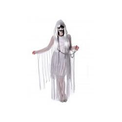 Déguisement de fantôme pour femme blanc Halloween en taille M et L