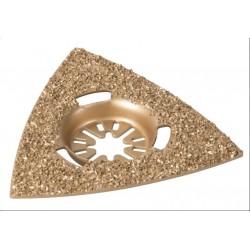 RIBITECH Lame pour Ponceuse multifonction électrique 260w triangulaire diamantée