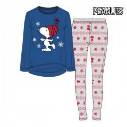 Pyjama Snoopy Femme Bleu 74851