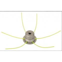 RIBILAND Tête de débroussailleuse universelle métal RAZERB PRO + 3 fils carrés