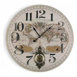 Horloge Murale Map World...