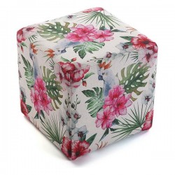 Tabouret Flores Polyester...