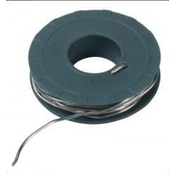 RIBITECH Fil étain  bobine de 100gr diam. 1,5mm longueur 6,9m