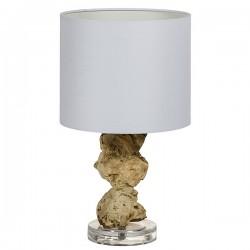 Lampe de bureau bois...