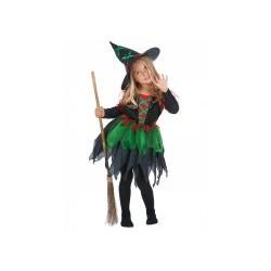 Déguisement sorcière des bois fille Halloween  4 à 6 ans