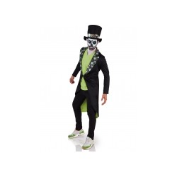 Déguisement Dia de los muertos homme Halloween taille unique