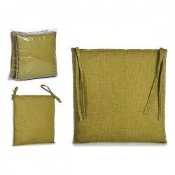 Coussin de chaise Vert Tissu