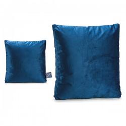 Coussin Bleu Velours Bleu...