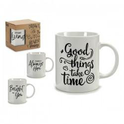 Tasse mug Noir (7 x 9,5 x...