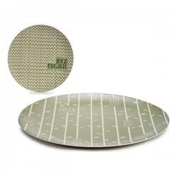 Assiette plate Bambou Ø 20 cm