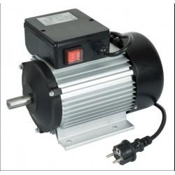 Moteur électrique 2 cv mono 2800tr/min + interrupteur RIBITECH
