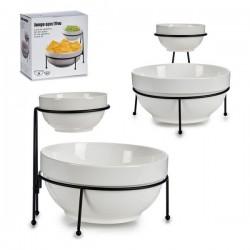 Set de Bols Blanc Porcelaine