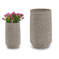 Vase Ciment (14,5 x 25 x...