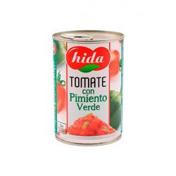Tomate et poivron vert Hida...