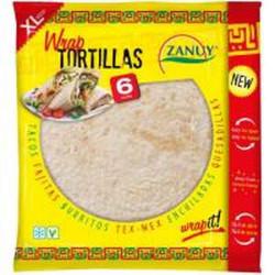 Tortillas de blé XL Zanuy...