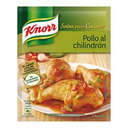 Sauce Chilindrón au poulet...