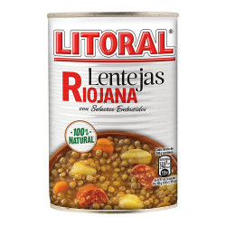 Lentilles à la Rioja...