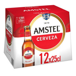 Bière Amstel (12 x 25 cl)