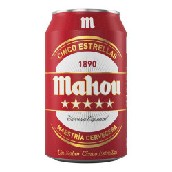 Bière Mahou 5 Estrellas (33...