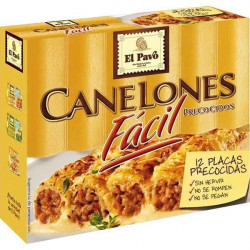 Cannellonis El Pavo 12 uds...
