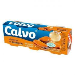 Moules à l'escabèche Calvo...